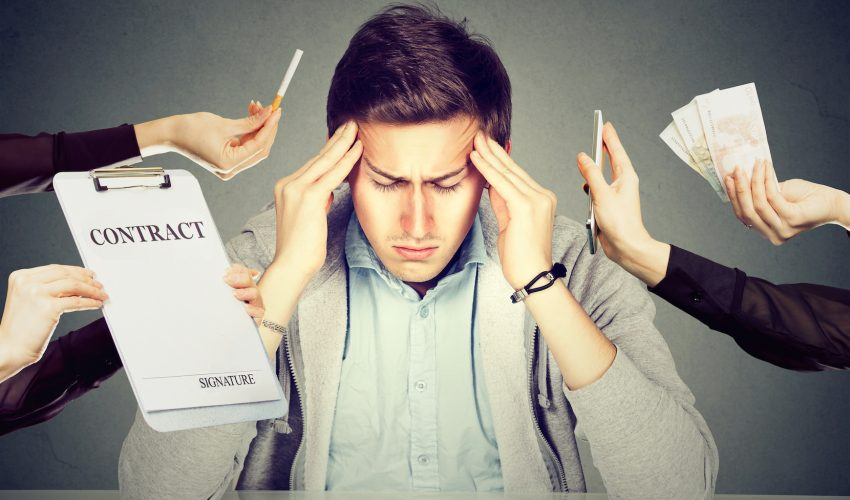 Neuroscientists at the Massachusetts Institute of Technology have determined that decision-making is drastically affected by chronic stress.