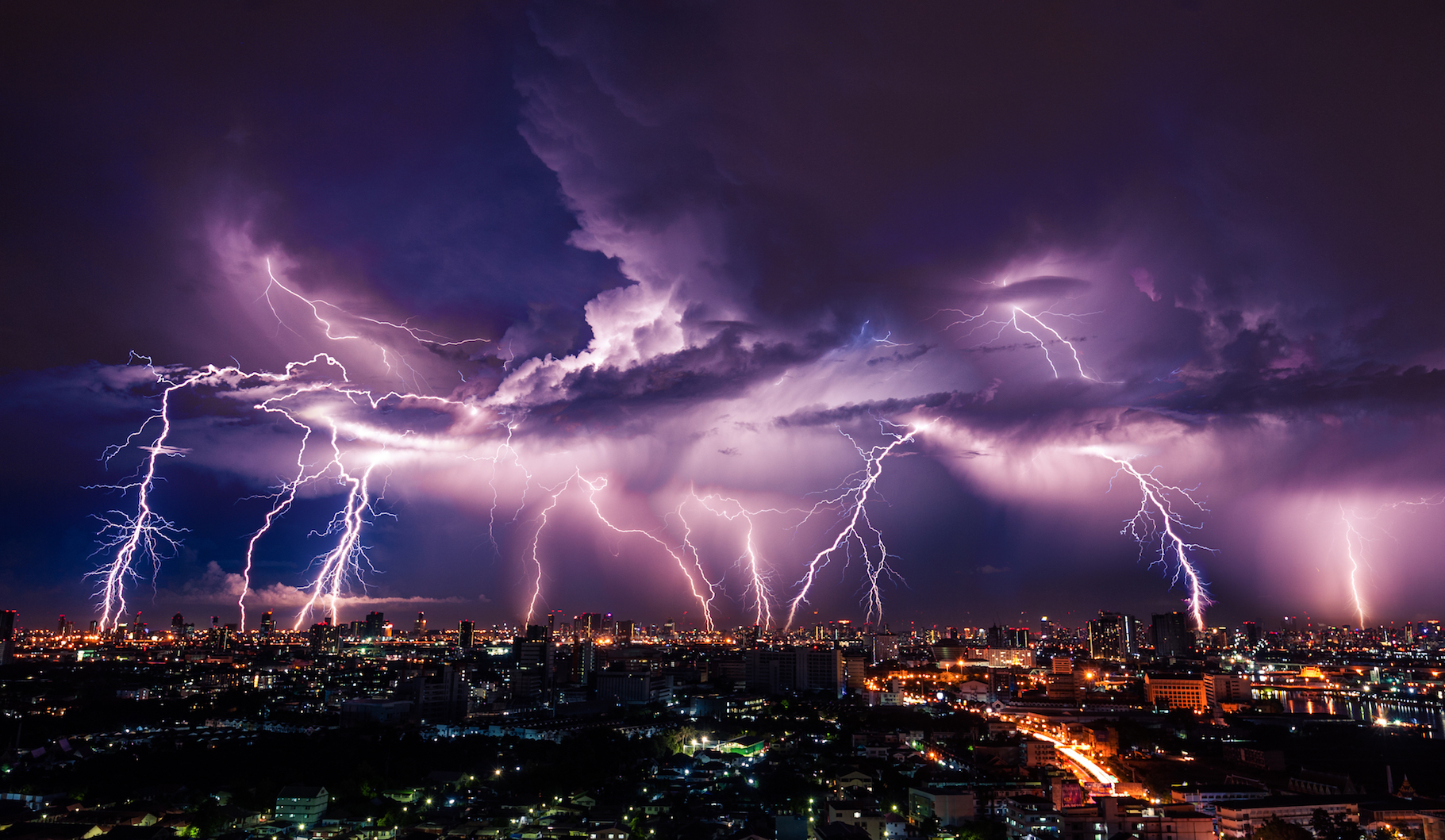 Severe summer thunderstorms in North America are projected to become larger and much more frequent in the coming decades.