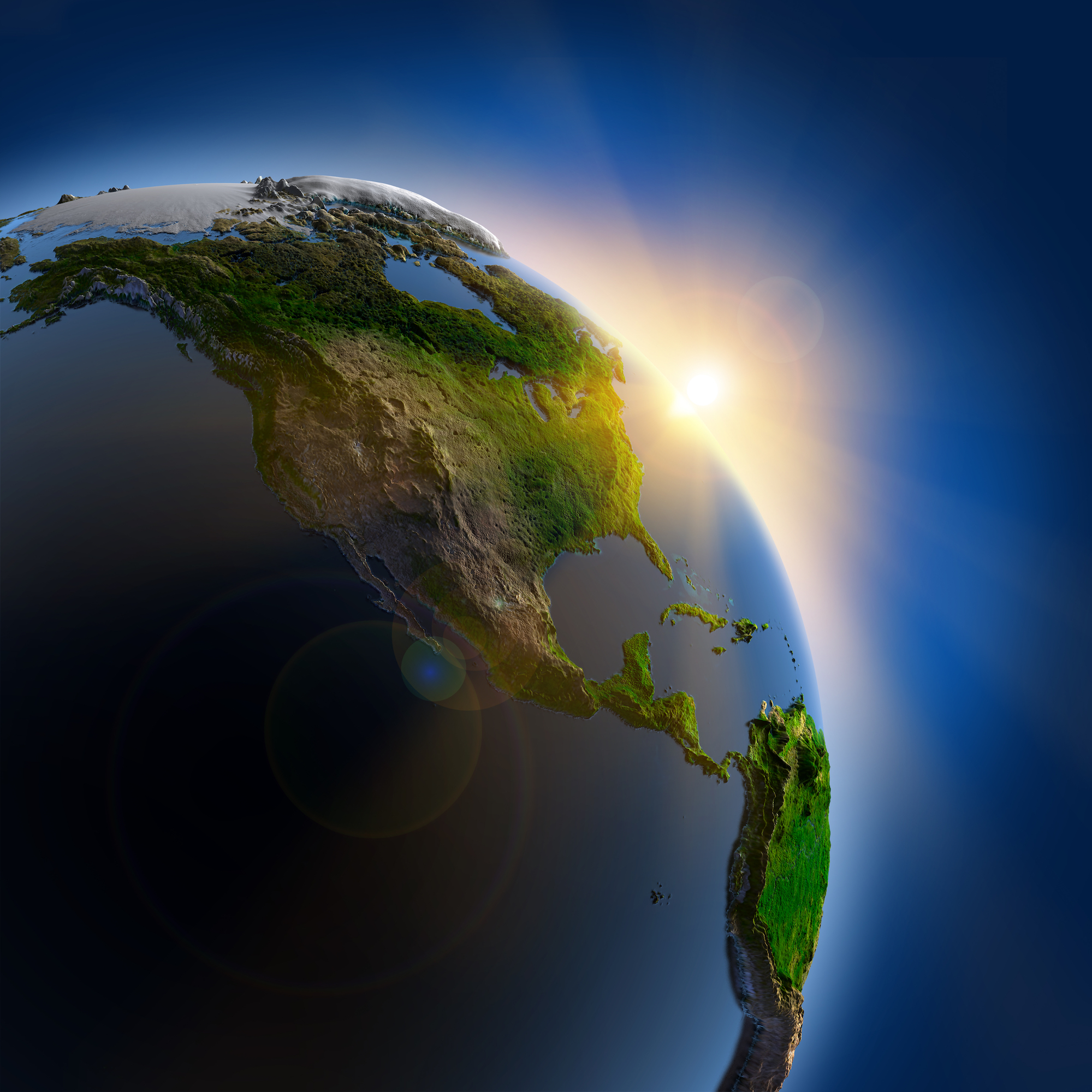 A new study has found that declining CO2 levels in the atmosphere one million years ago significantly altered the Earth's climate.