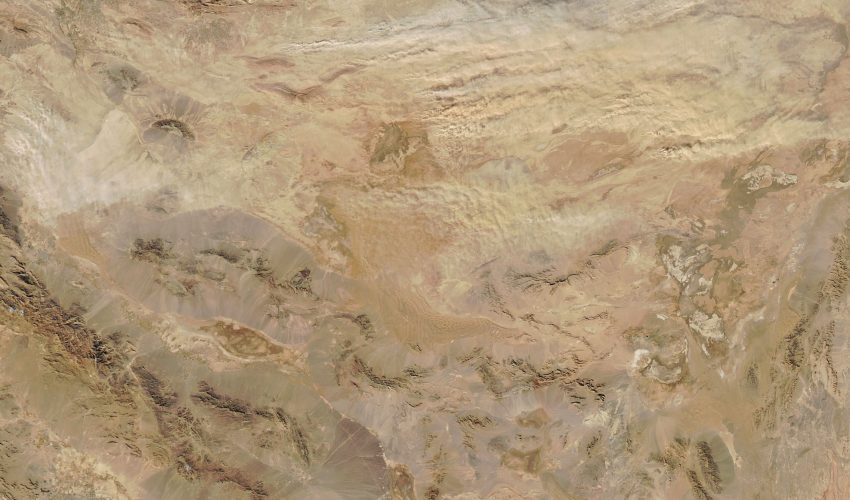 Today's Image of the Day comes courtesy of the NASA Earth Observatory and features a look at a dust storm in northern Iran.