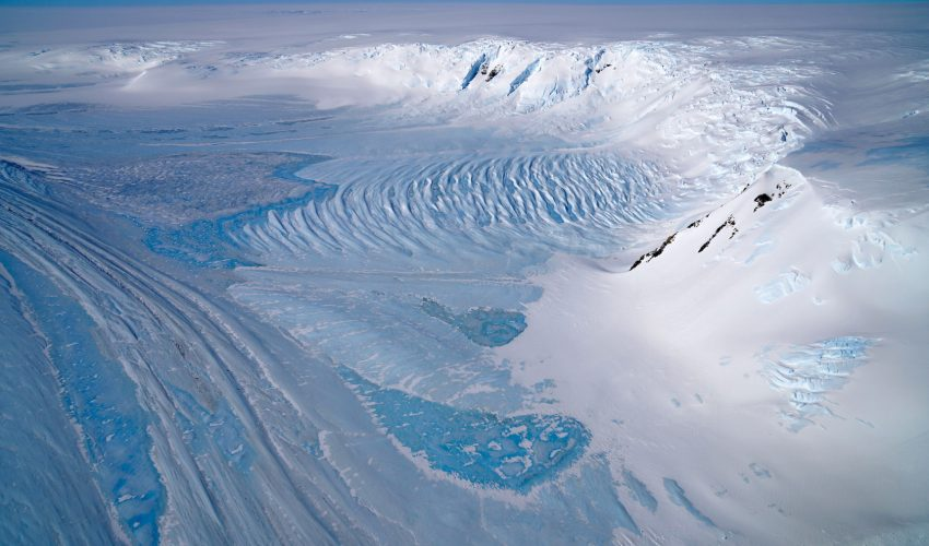 Today's Image of the Day comes from the NASA Earth Observatory and features a look at ice across the Transantarctic Mountains in Antarctica.