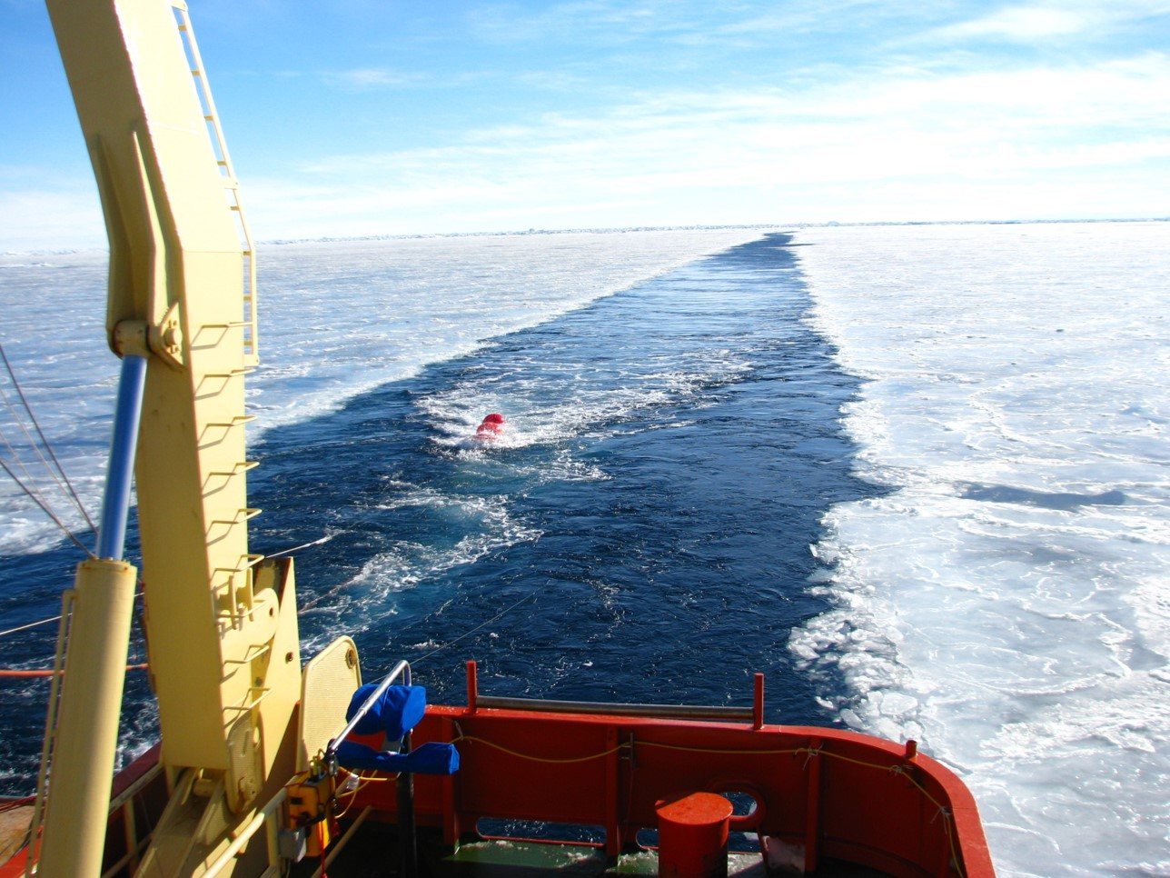 The East Antarctic Ice Sheet stores more water than any other ice sheet and holds enough water to raise sea levels by an estimated 174 feet.