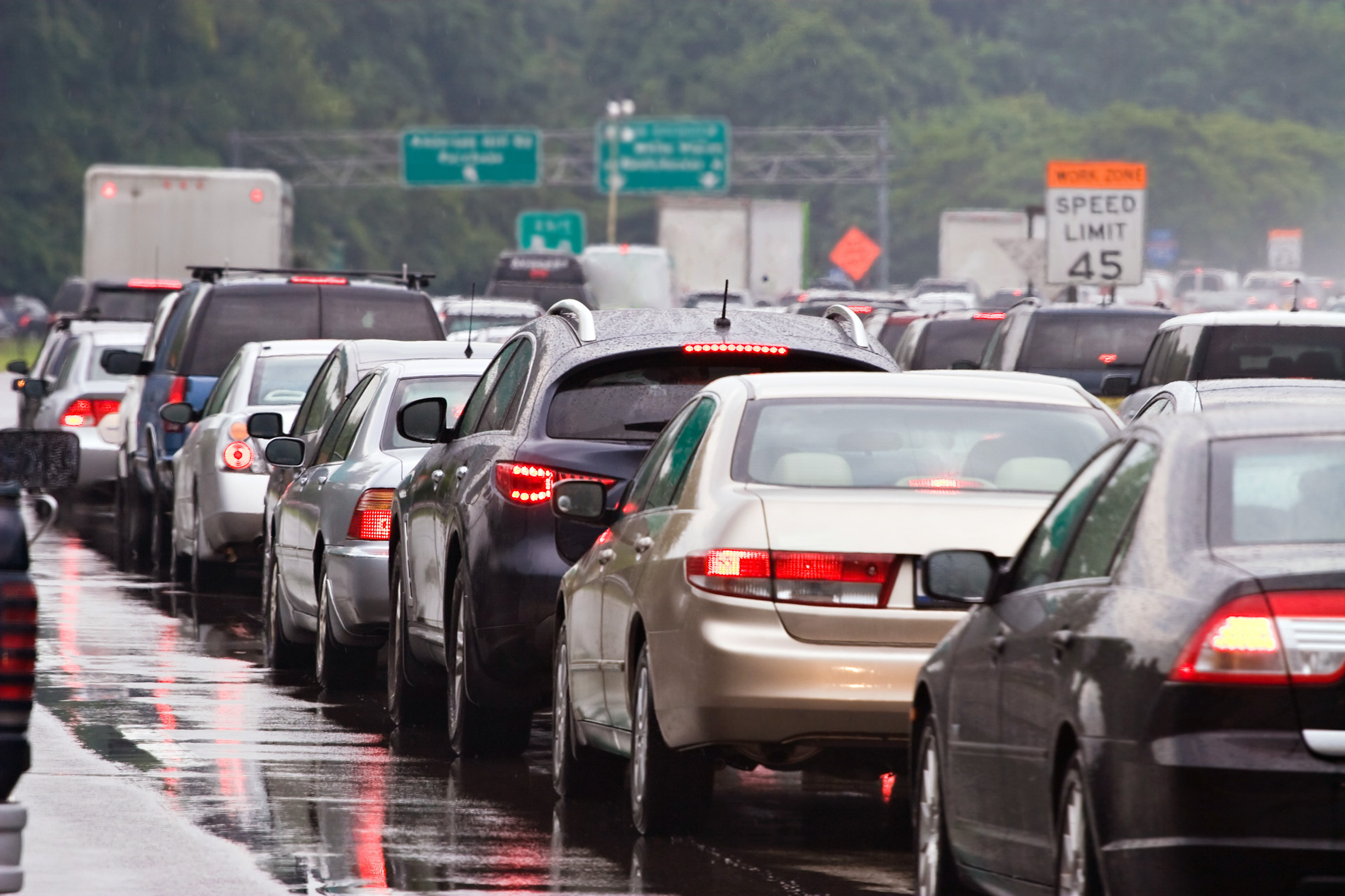 Traffic jams could be solved with a simple change in how drivers and car sensors perceive the other cars around them.