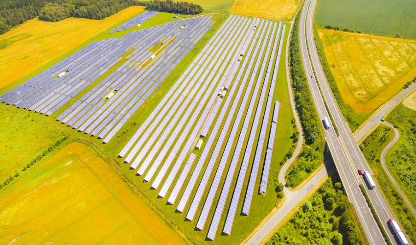 A team of experts has determined that it is feasible to generate large quantities of solar energy without impacting valuable areas of land.