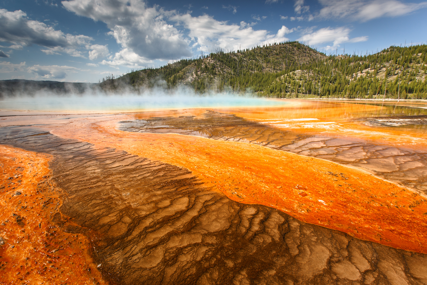 With growing concerns of a volcanic eruption in Yellowstone National Park, researchers have closely examined its geological history.