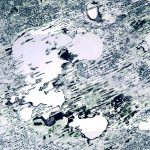 Today's Image of the Day comes from the European Space Agency (ESA) and features a look at a very frozen Lake Chany in Russia.