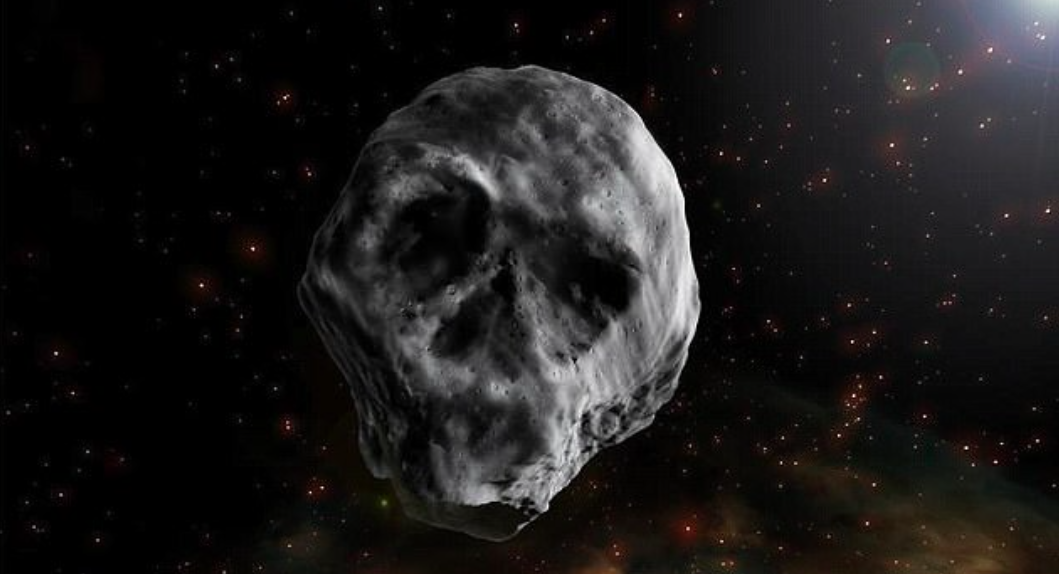 On Halloween in 2015, an asteroid passed by Earth that looked like a skull. Experts are reporting that it will appear again next year.