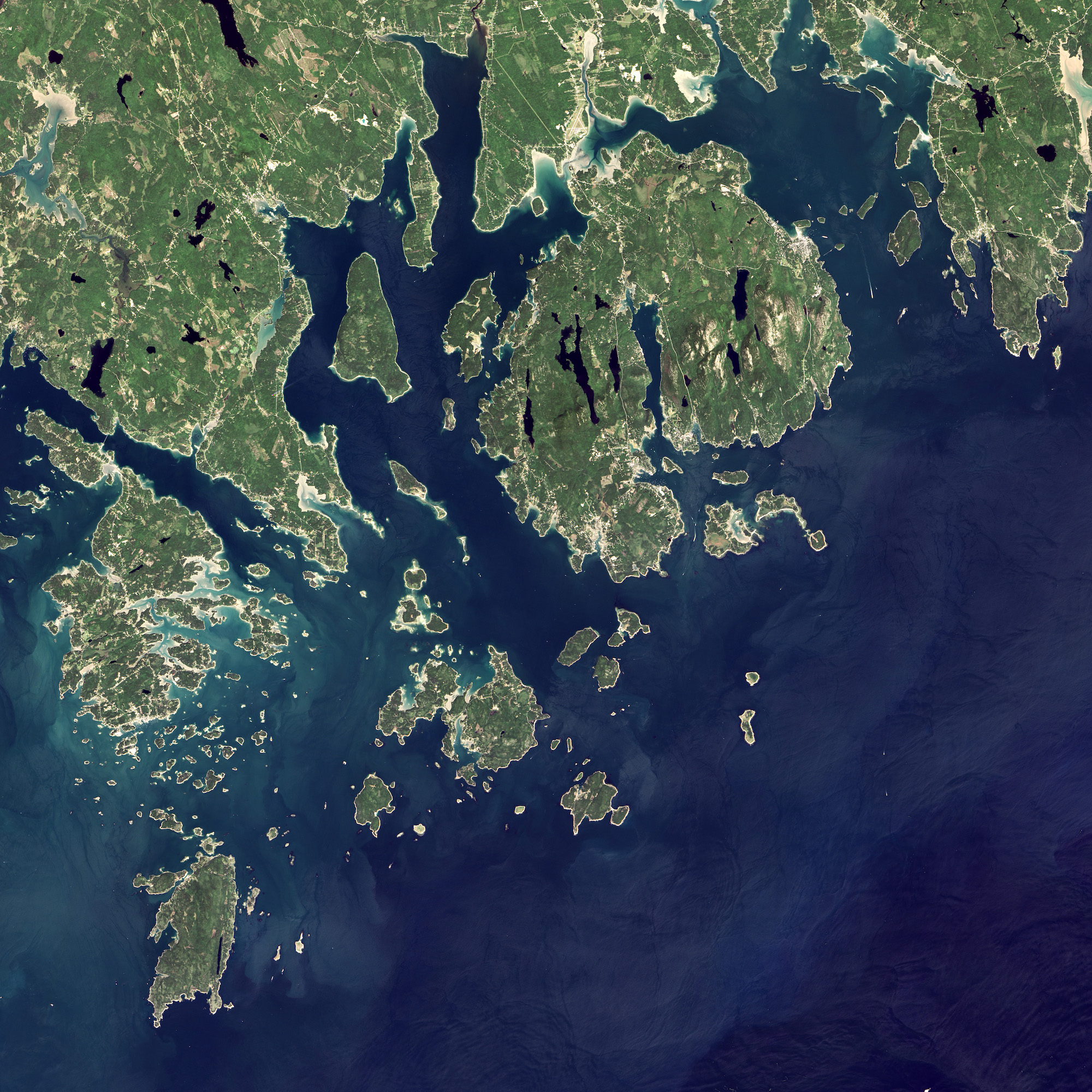 Today's Image of the Day comes from the NASA Earth Observatory and features a look at Acadia National Park, just southwest of Bar Harbor, Maine.