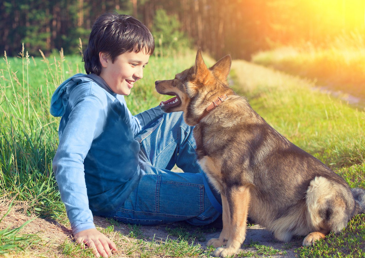 """Puppies love when people direct a type of """"baby talk"""" at them, while older dogs appear to be indifferent to that communication."""