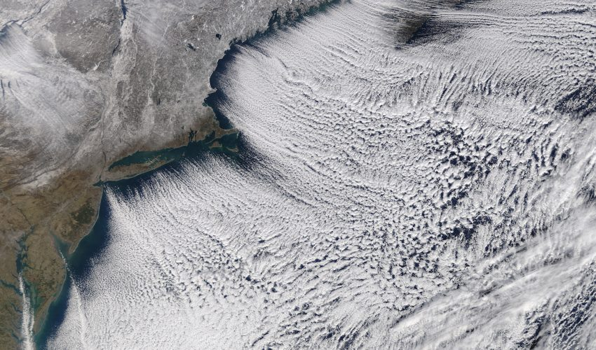 Today's Image of the Day comes from the NASA Earth Observatory and features a look at frigid air over the northeastern United States.