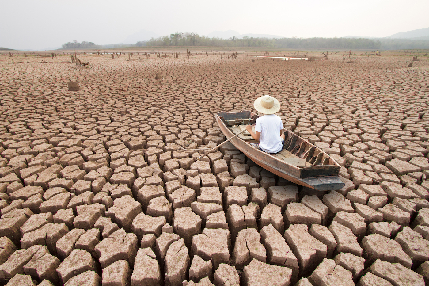 If global warming hits 2 degrees Celsius, over 25 percent of the world will get less moisture and be more prone to drought and wildfires.