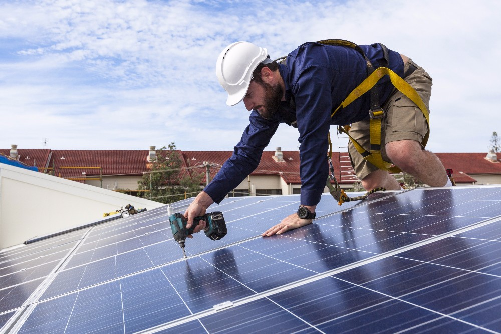 Long-term behavioral changes, like installing solar panels, could help to curb climate change, a new study found.