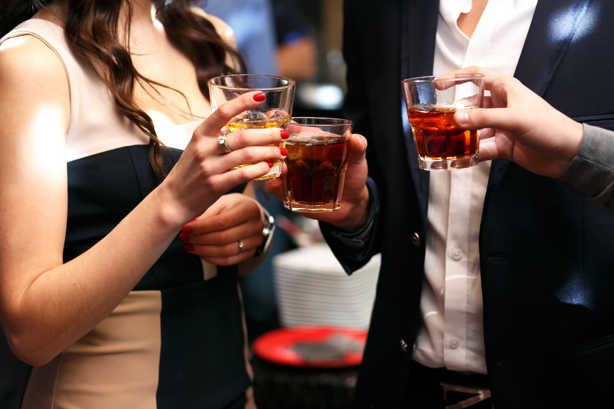 A new study found a link between alcohol drinking and fatal cardiovascular disease, but only among people in a lower socioeconomic position.