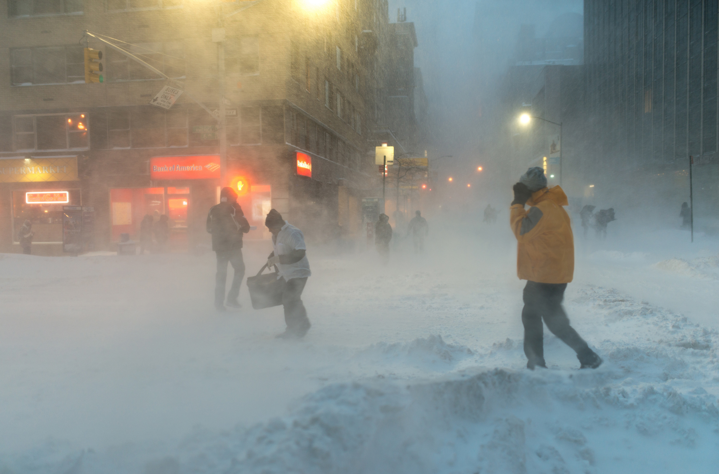 Tens of millions of people are in the path of a bomb cyclone, one of the most powerful winter storms in the country's history.