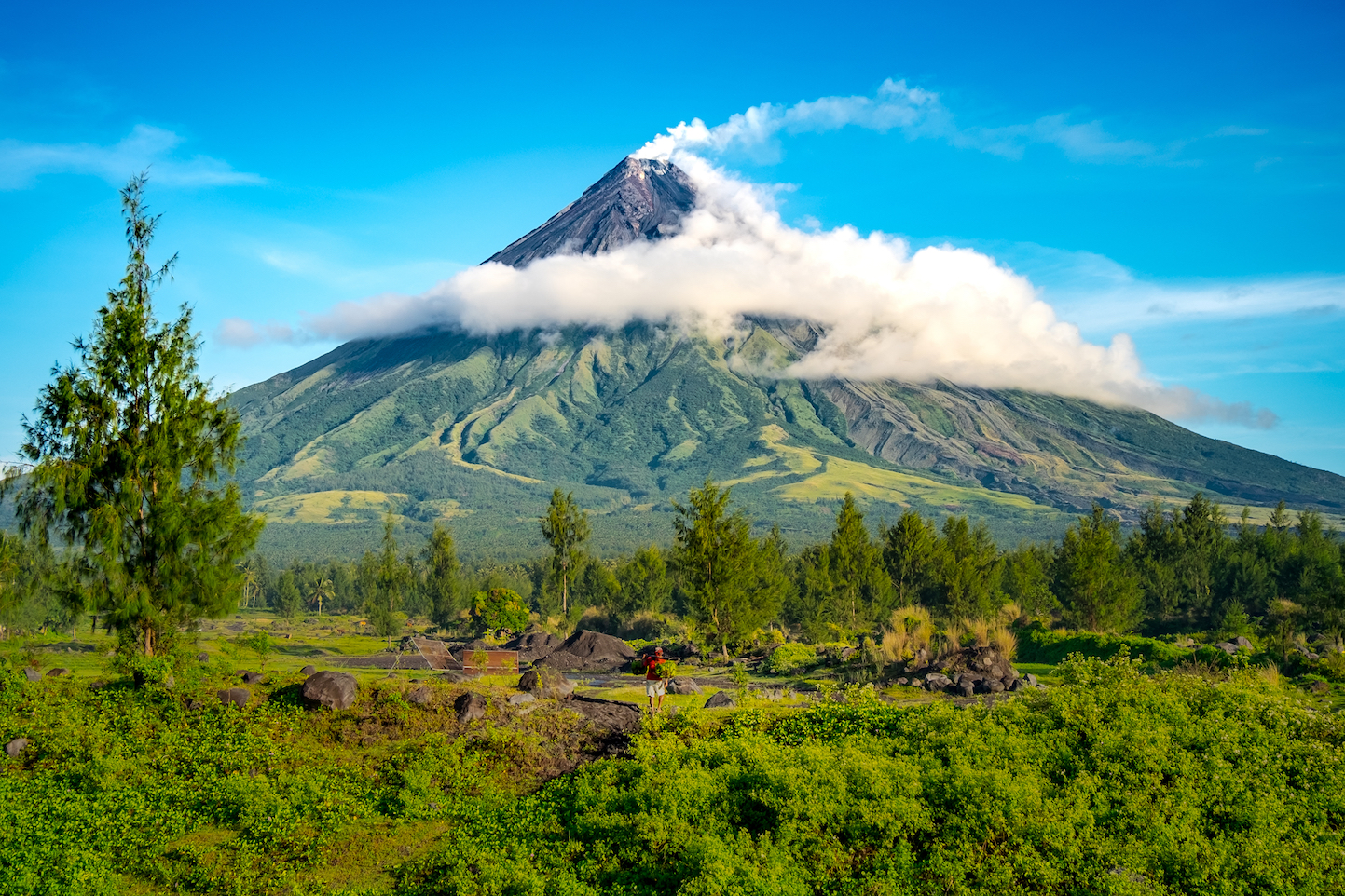 One of the world's most active volcanoes is threatening to erupt in the Philippines on the island of Luzon.