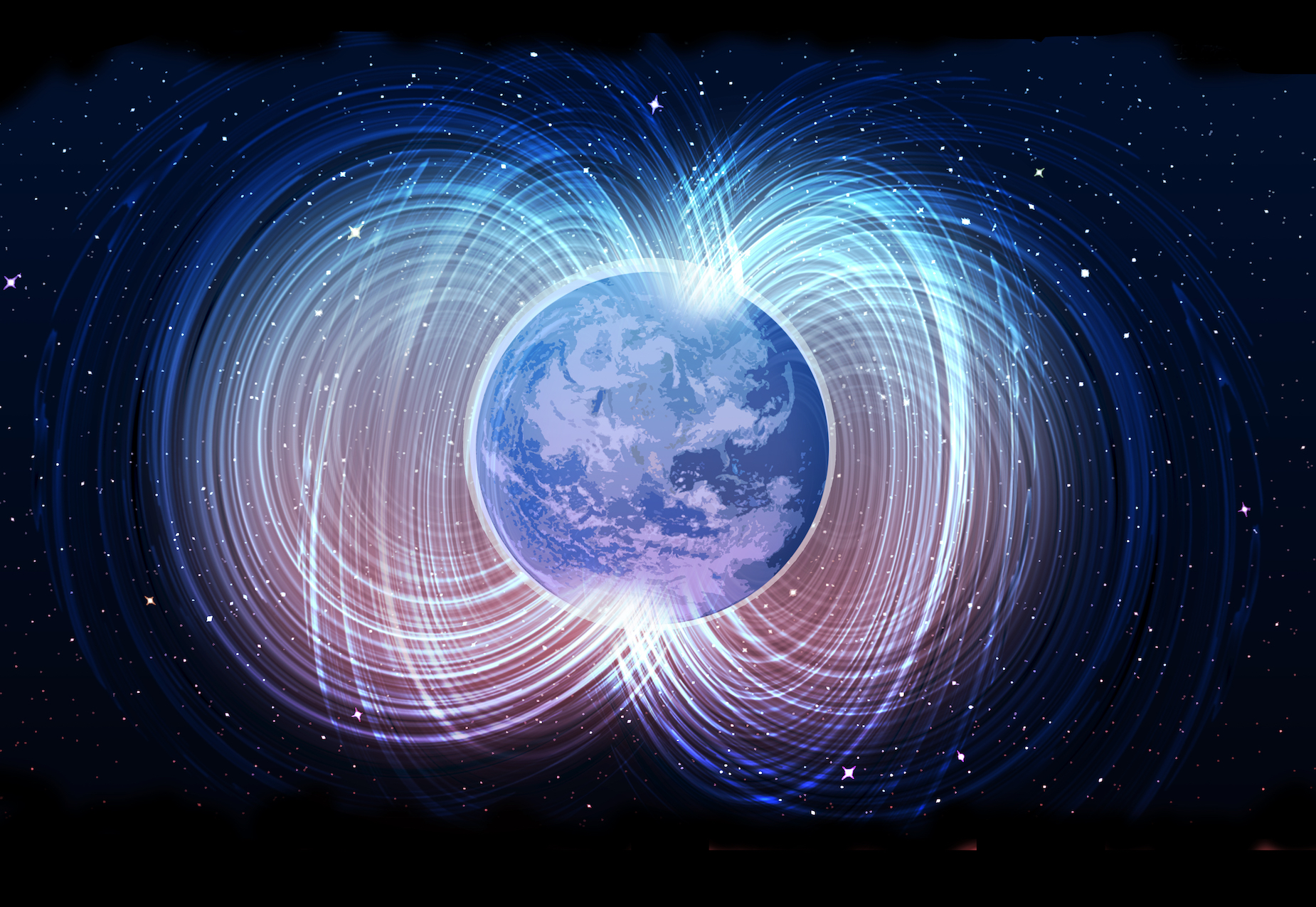 Earth's magnetic field has shown signs of weakening, which could indicate the poles are about to flip in the not-so-distant future.