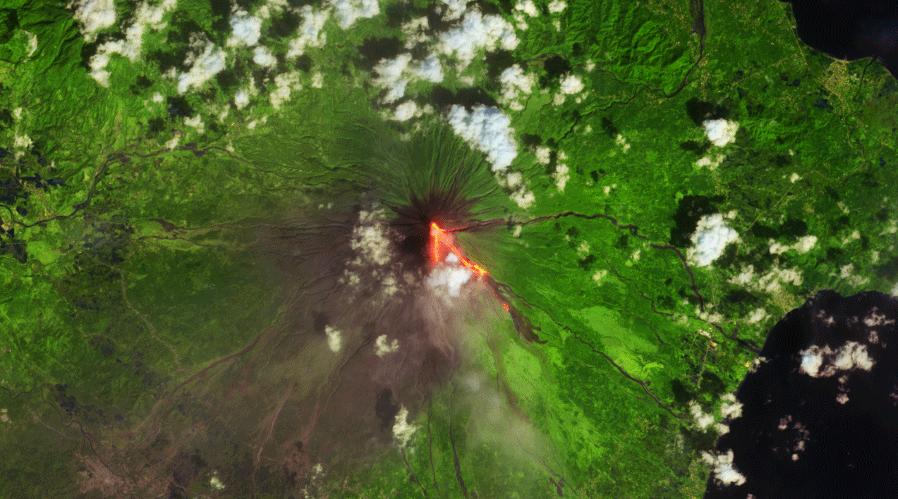 Today's Image of the Day features a look at Mount Mayon, which some call the perfect volcano due to its symmetrical cone.