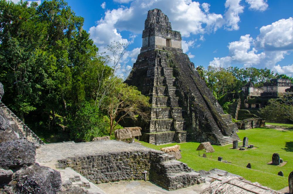 Laser technology has revealed extensive Maya settlements near Tikal in northern Guatemala.