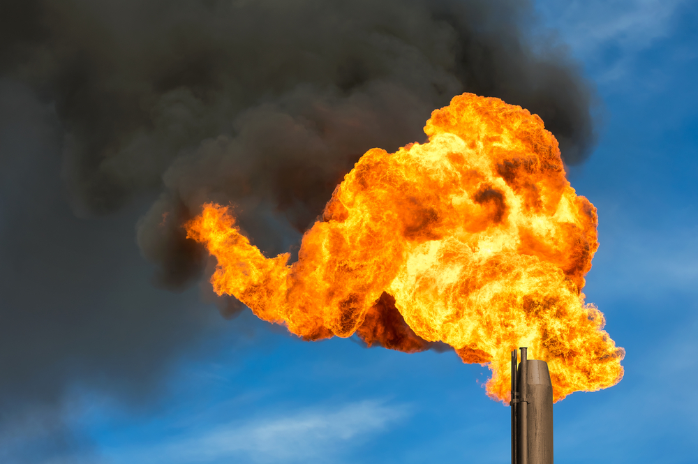 A court order has kept in place a new regulation curbing gas flaring – burning off associated gases at oil refineries and natural gas processing plants – intended to help curb methane emissions.