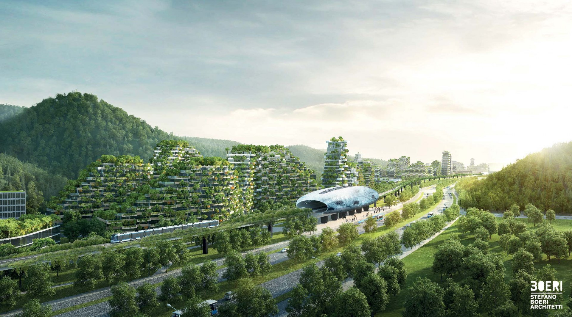 In an effort to combat air pollution and climate change, China is planning to construct the world's first city made up of vertical forests.
