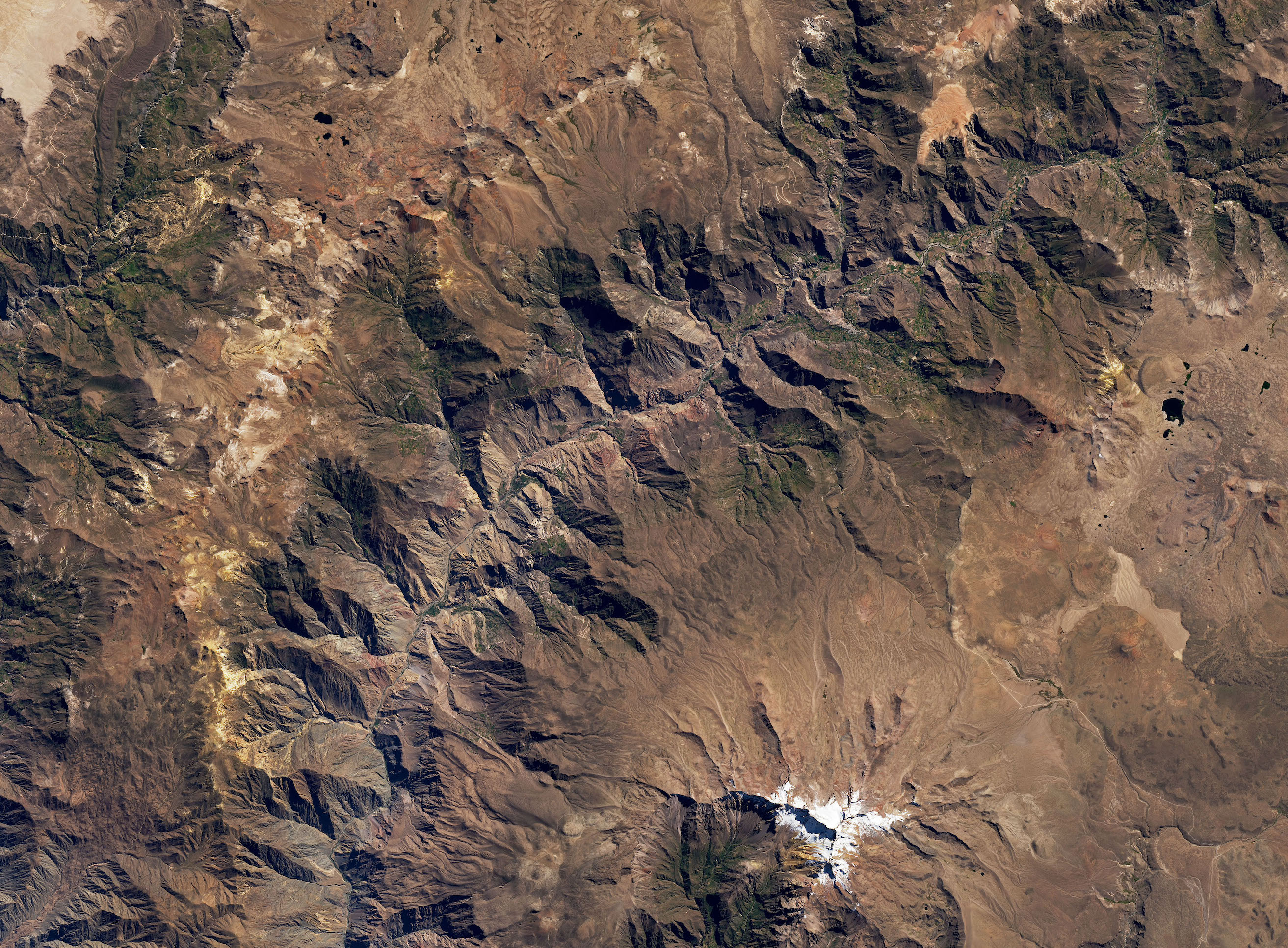 Today's Image of the Day comes from the NASA Earth Observatory and features a look at the depths of the Cotahuasi Canyon in Peru.