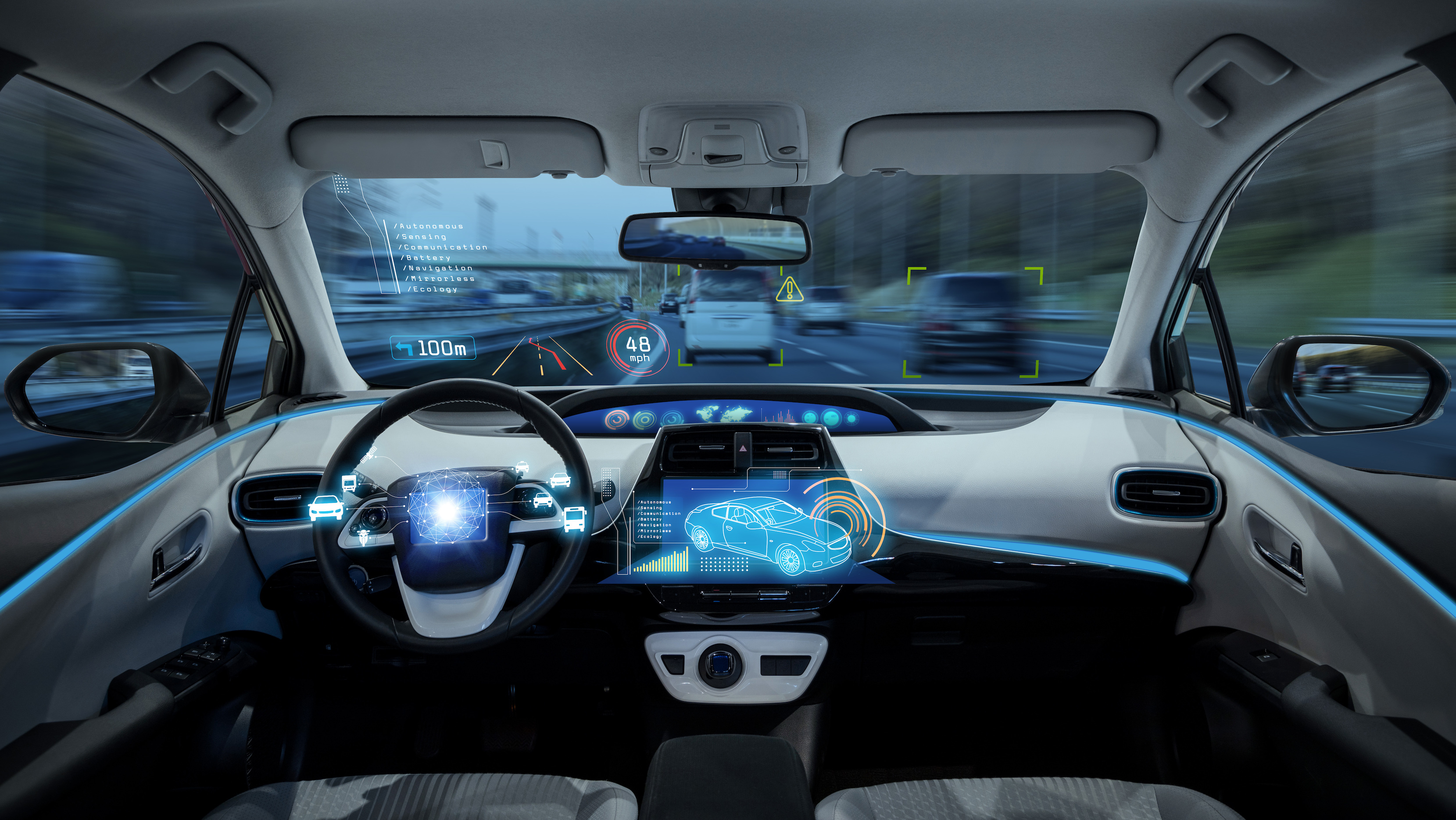 Autonomous vehicles show a reduction in lifetime energy use and greenhouse gas emissions when compared to conventional vehicles.