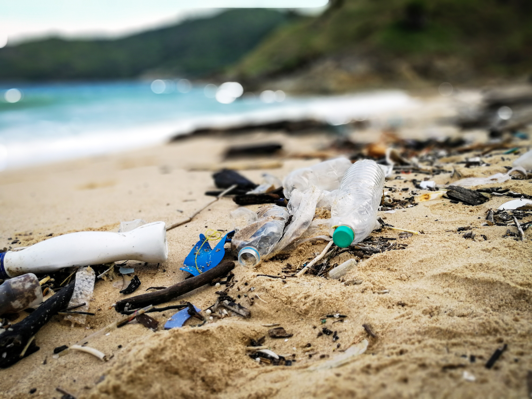 Researchers found that removing debris and plastics from beaches could equate to a 46 million dollar boost to the economy of Orange County alone.