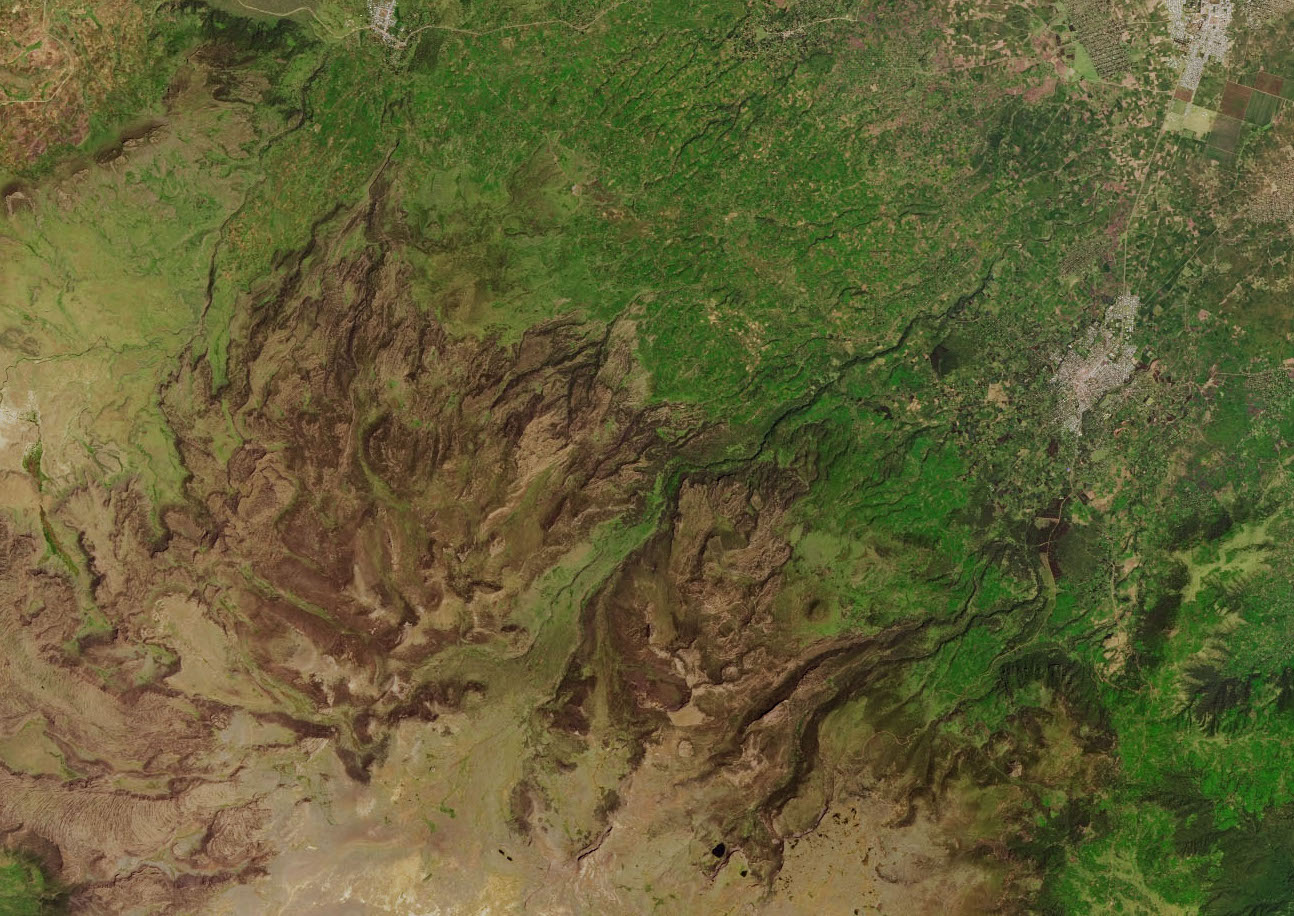 Today's Image of the Day comes from the NASA Earth Observatory and features a look at the Sanetti Plateau in the Bale range of Ethiopia.