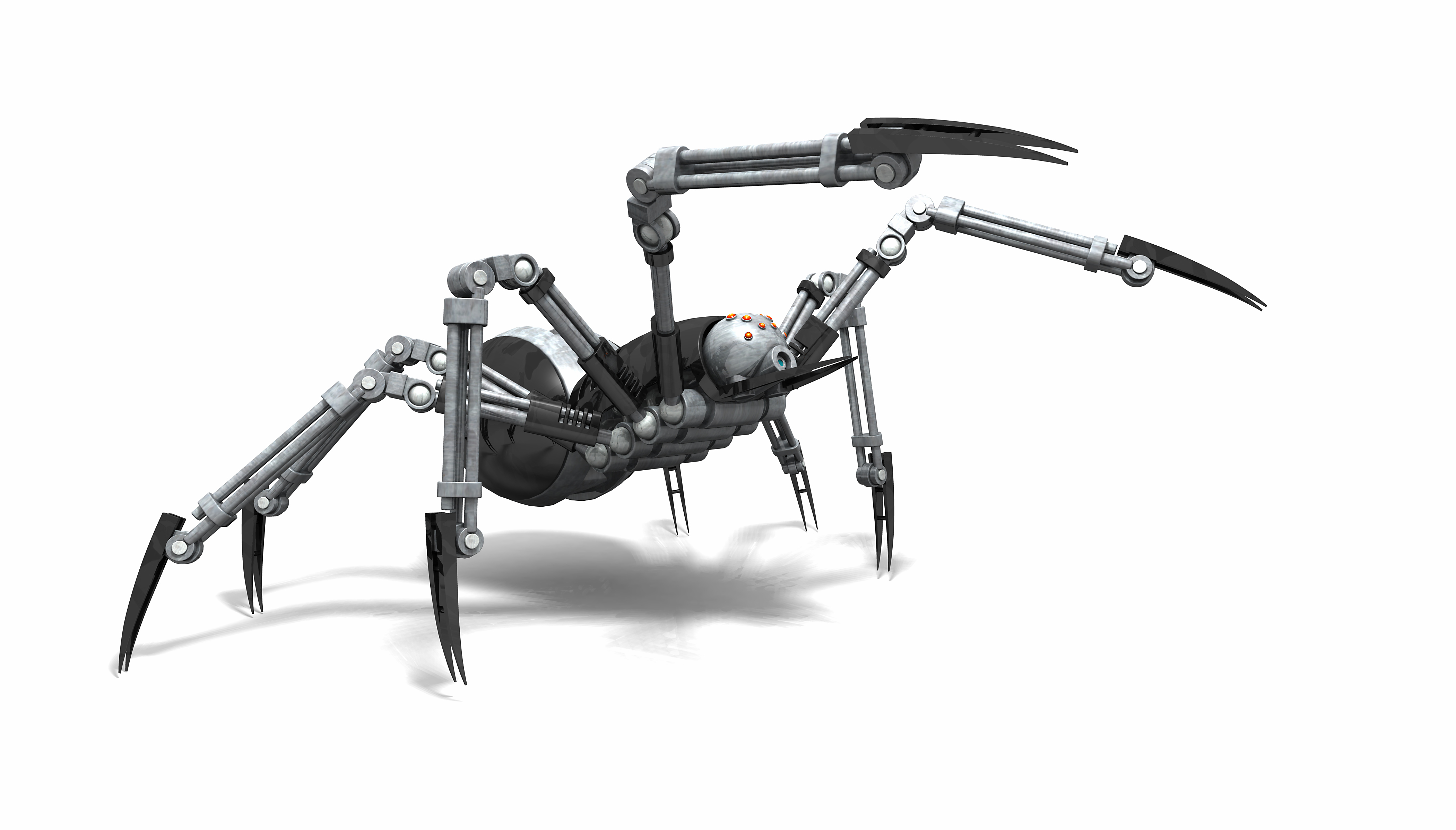 Researchers at the The University of Manchester are working to create electronic swarms of bees and jumping spider robots.