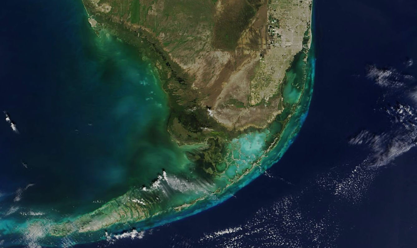 Today's Image of the Day comes from the NASA Earth Observatory and features a look at Everglades National Park in southwest Florida.