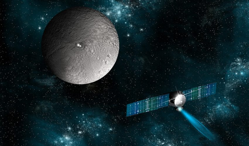 There may be an abundance of water on the dwarf planet Ceres, according to a new study published in the journal Science Advances.