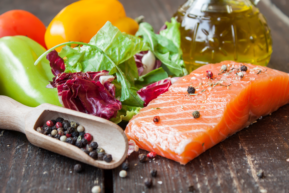 Strictly sticking to a Mediterranean diet, which includes plenty of grains, fresh vegetables and fruits, olive oil and fish, can have positive effects as people age.