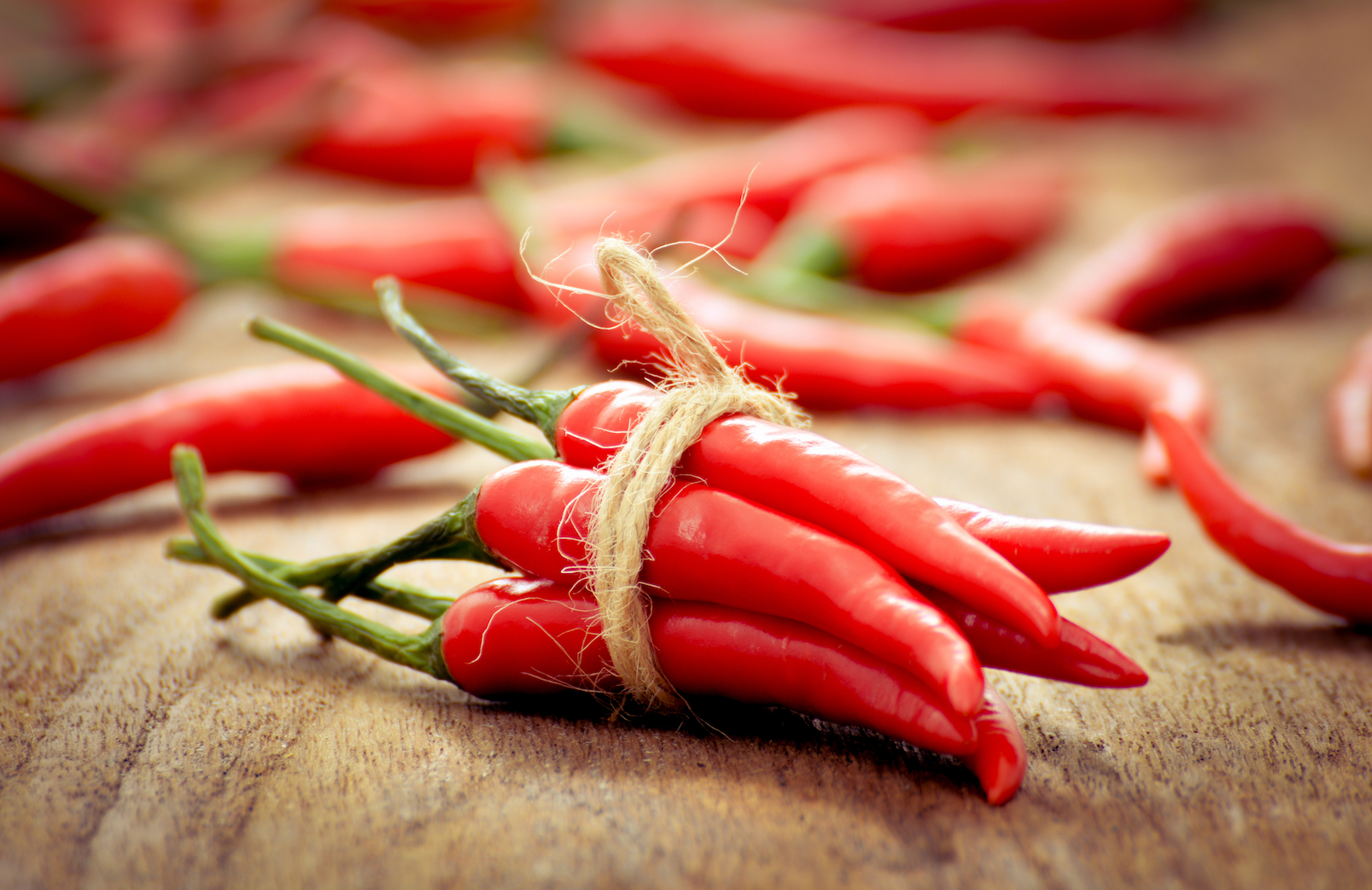 "An individual was hospitalized with a disorder characterized by severe ""thunderclap"" headaches and narrowing of the blood vessels in the brain after ingesting the world's hottest chili pepper."