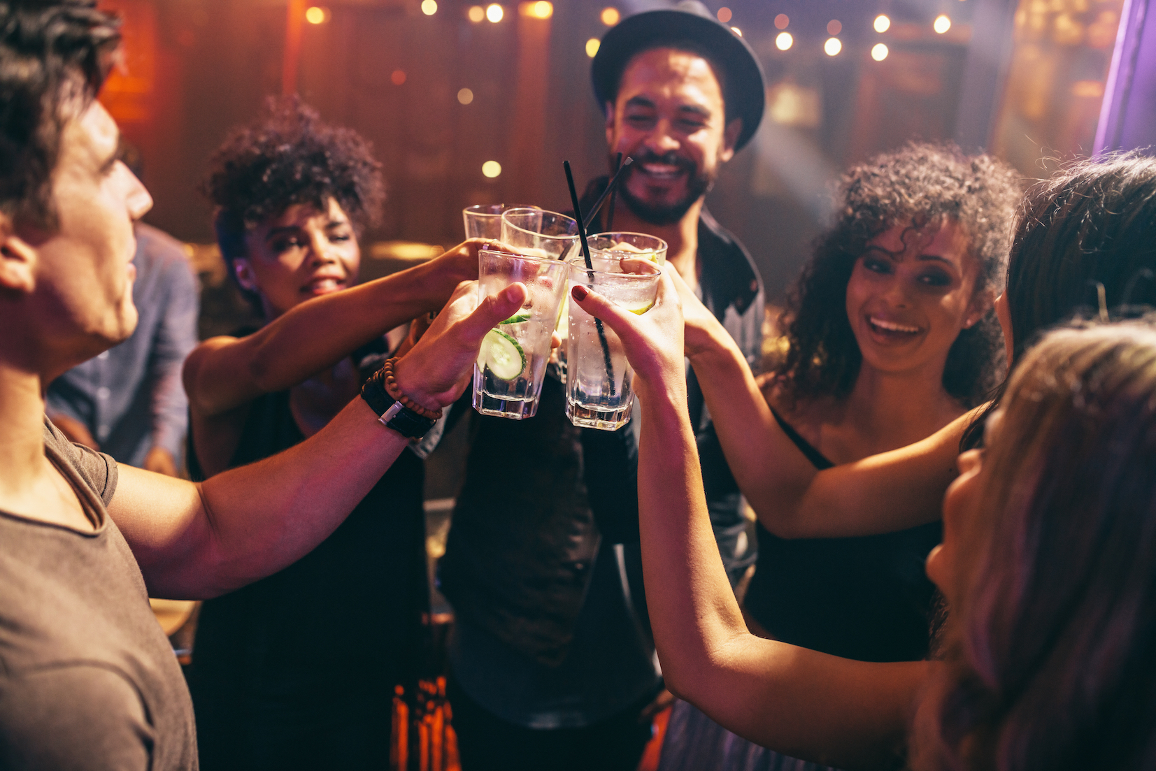 A new study shows that regularly drinking more than five or six alcoholic beverages a week reduces life expectancy and increases the risk of heart disease.