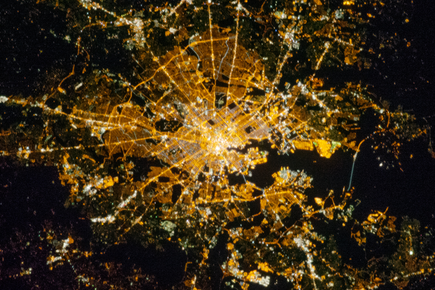 Today's Image of the Day comes from the NASA Earth Observatory and features a look at night lights in the city of Baltimore.