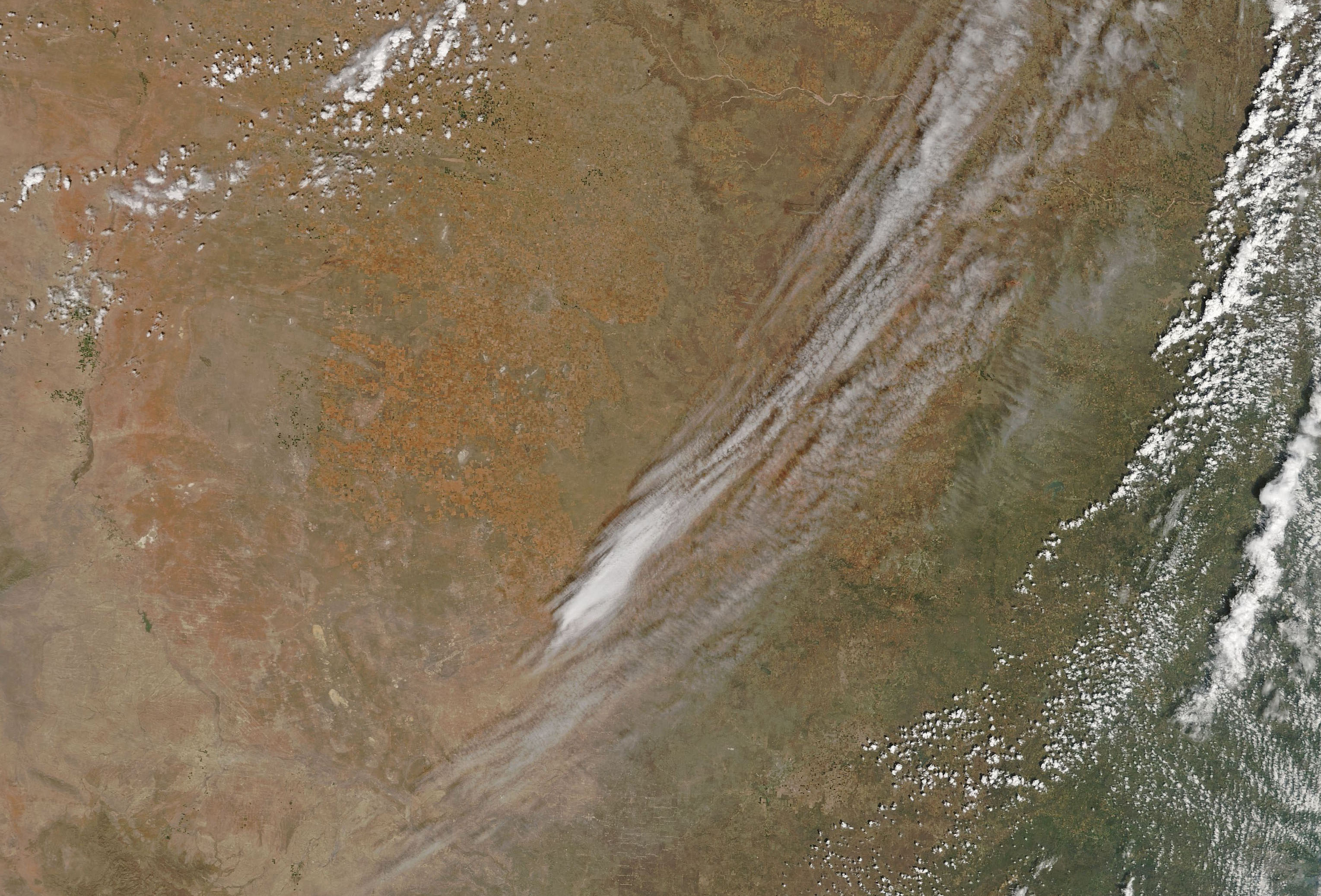 Today's Image of the Day comes from the NASA Earth Observatory and features a look at dangerous fires blazing across western Oklahoma.