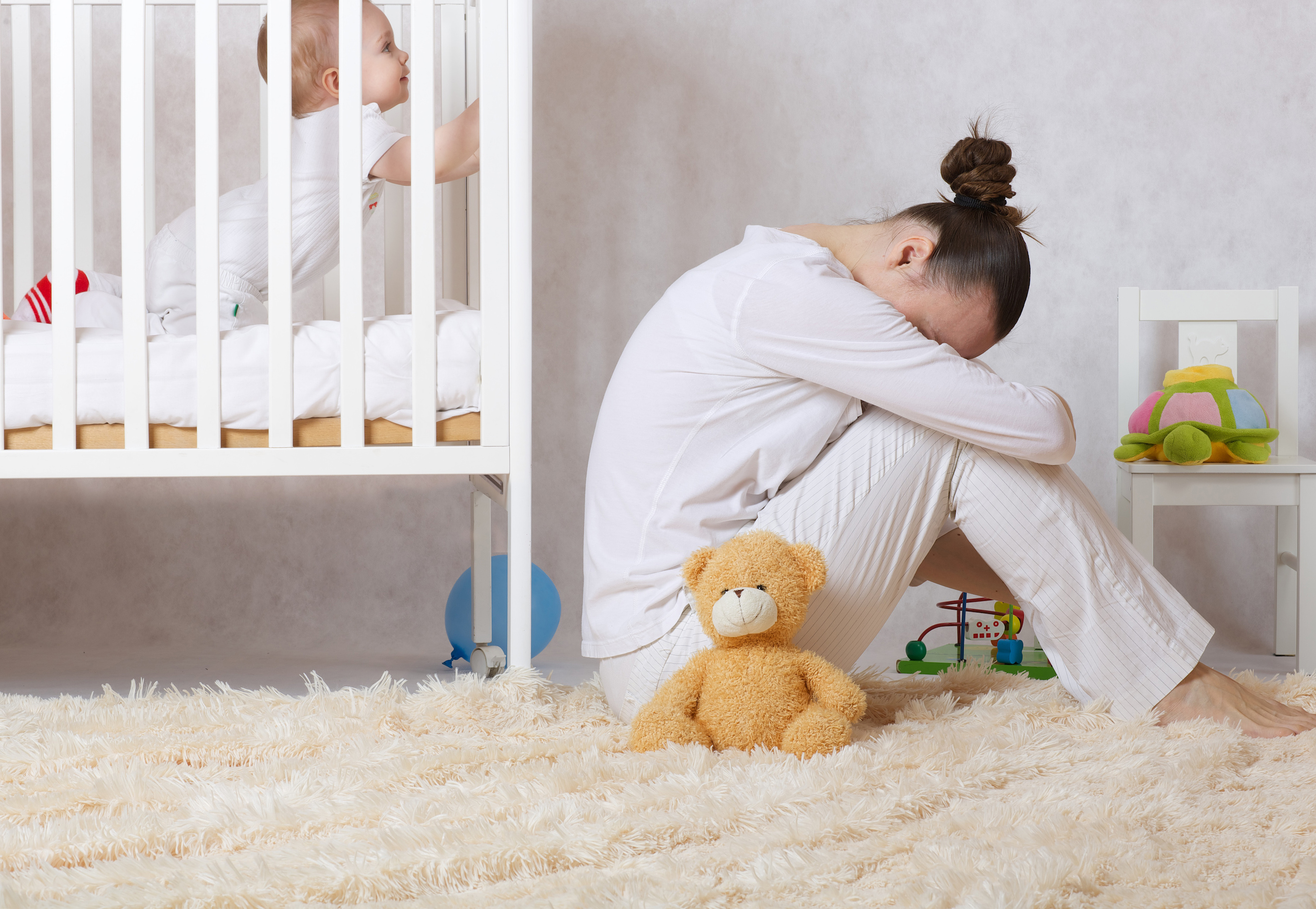 Researchers are reporting that depression in mothers can have a negative effect on the cognitive development of their children up until the age of 16.