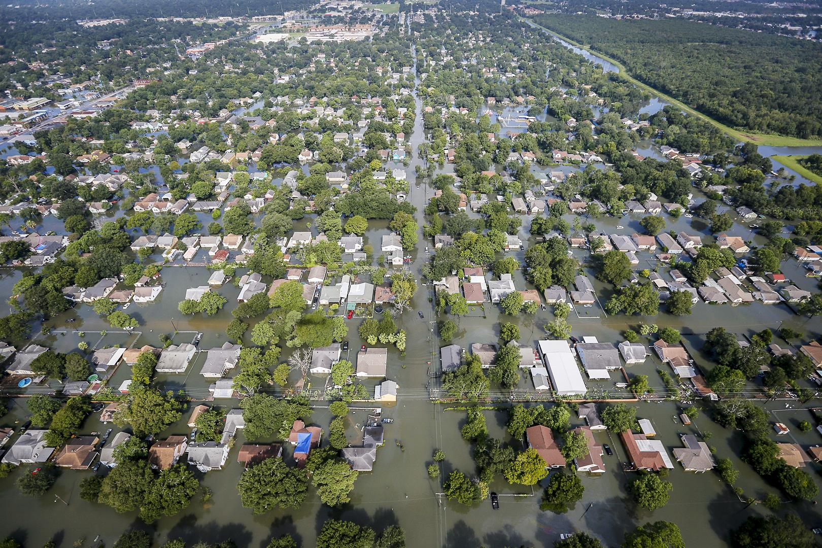 An international team of researchers has found that most of the drowning deaths in the Houston area during Hurricane Harvey occurred outside of high-risk flood zones.