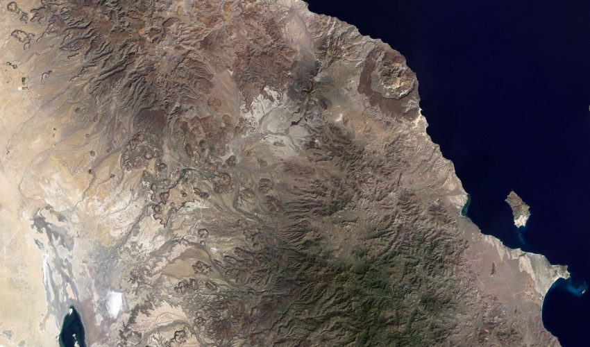 Today's Image of the Day comes from the NASA Earth Observatory and features a look at several different volcanoes in Baja California.