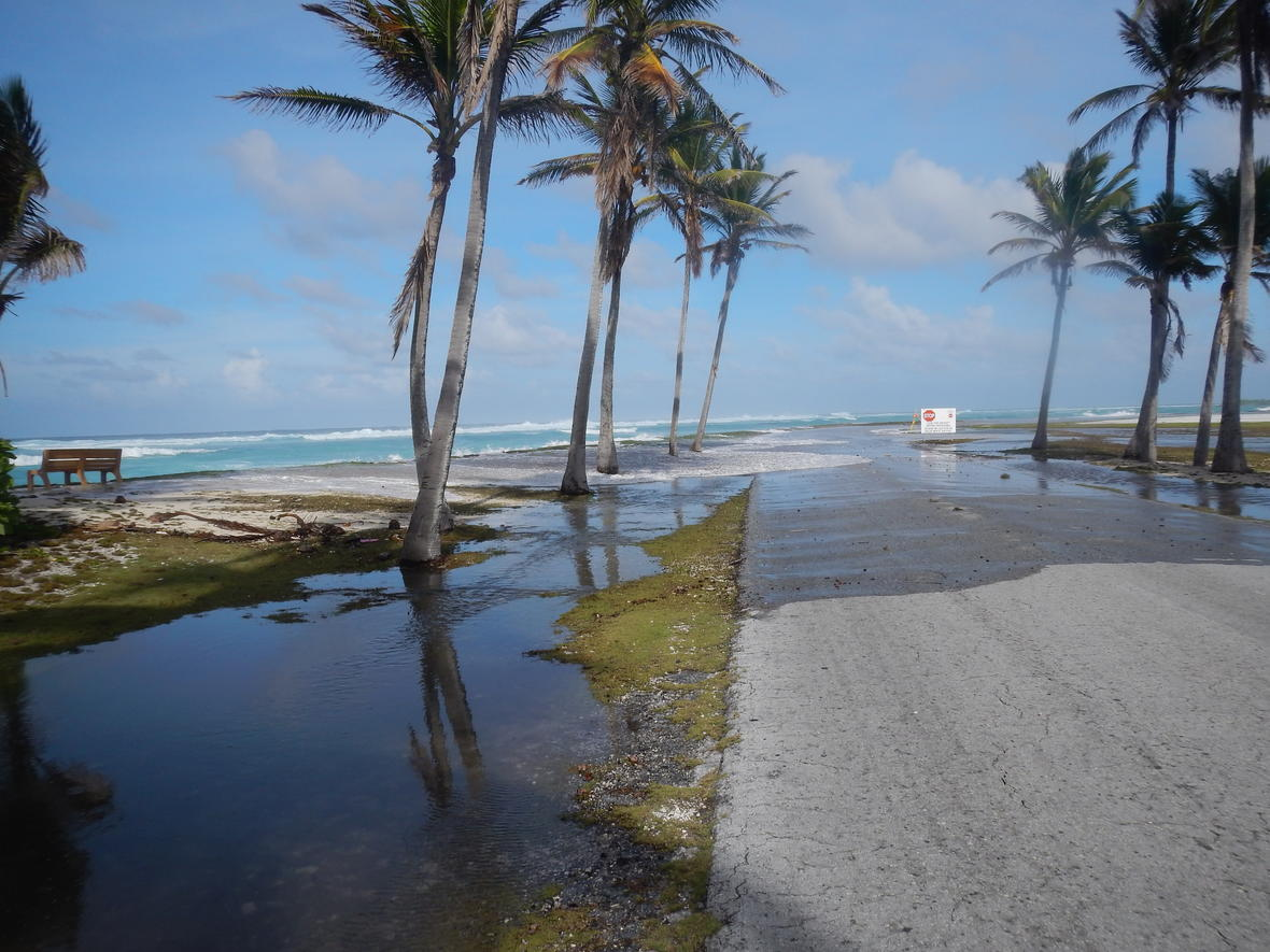 A new study reveals that sea-level rise and wave-driven flooding could devastate freshwater resources integral to the populations on low-lying atoll islands, leaving many islands uninhabitable in just a few decades.