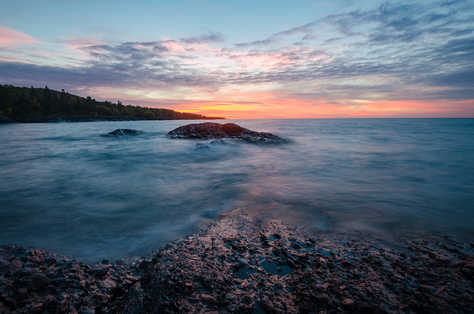 Scientists have discovered that Lake Superior shifts from absorbing and storing carbon dioxide to releasing it into the atmosphere.