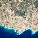 Today's Image of the Day comes from the NASA Earth Observatory and features a look at the city of Bridgetown, the capital of Barbados.