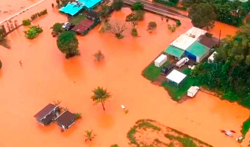 A report in the Sun Sentinel found that the destructive flooding that struck Kauai, Hawaii, in mid-April has been linked to climate change.