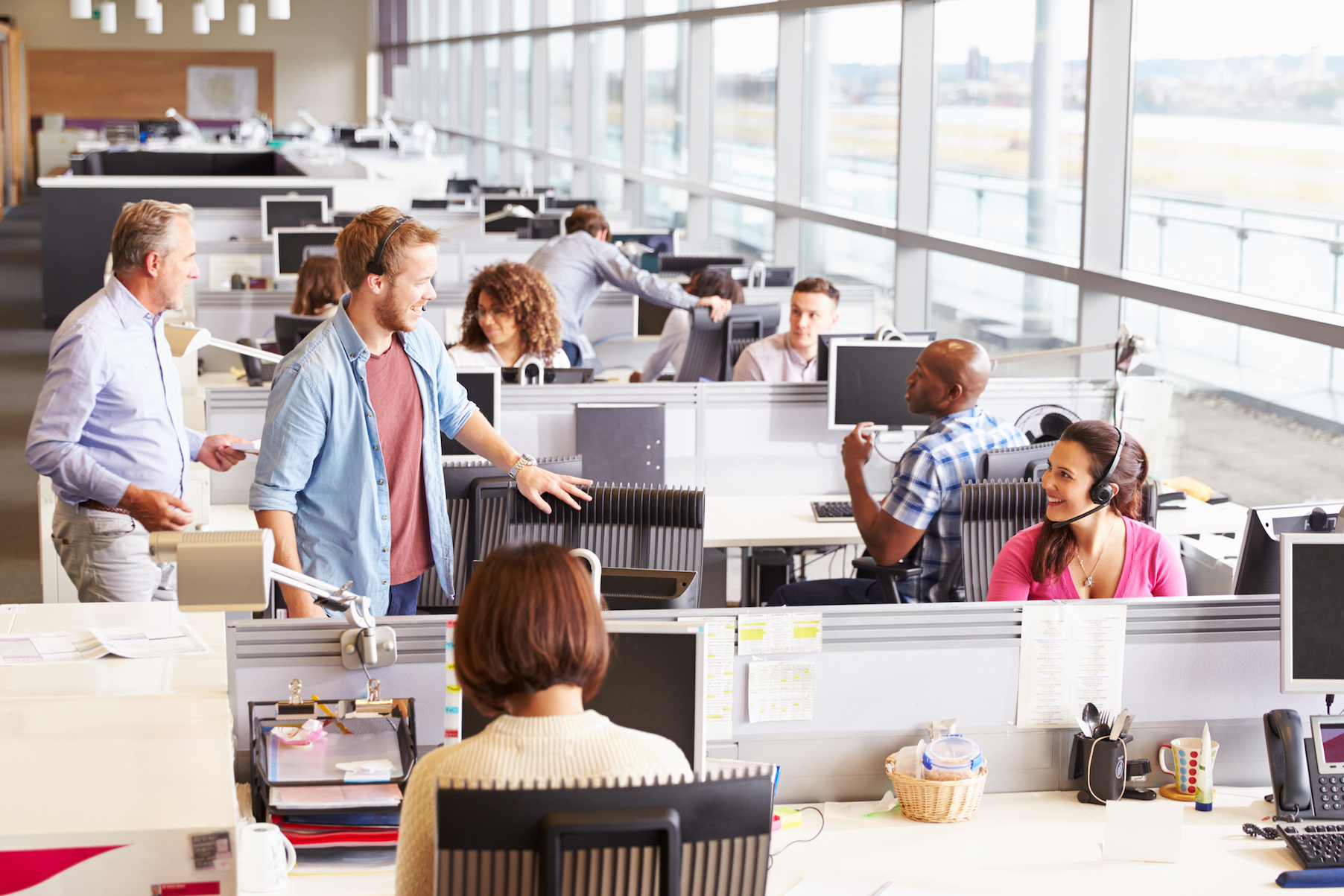 Research has found that open-plan offices can be distracting and create a stressful environment for employees.