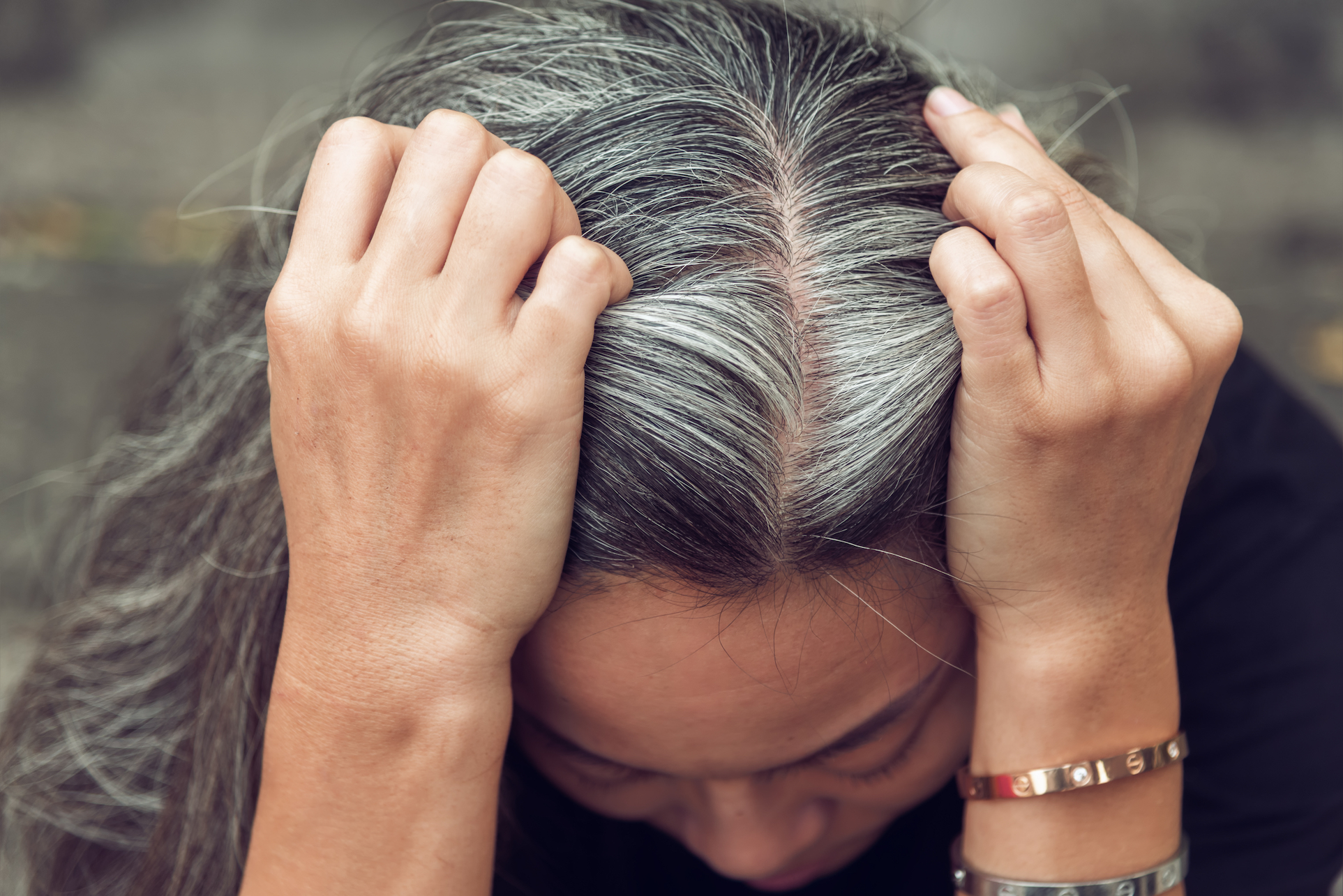 Stress actually can turn your hair gray, according to researchers at the University of Alabama Birmingham. The experts discovered a connection between the genes that trigger immune response and the regulation of hair and skin color.