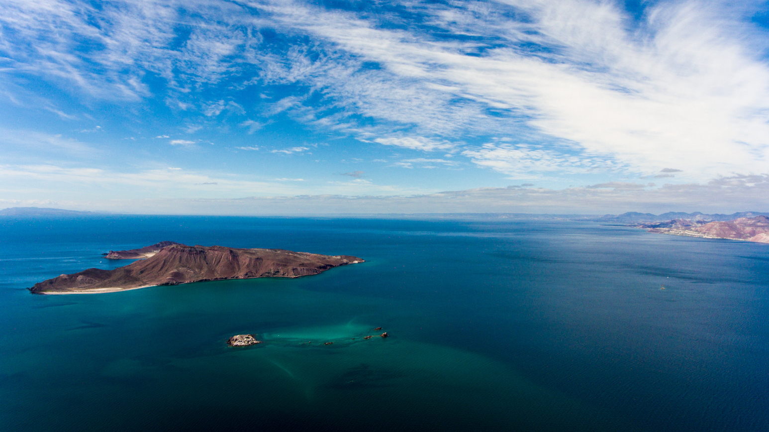 An isthmus of water cutting a sliver of land from the main body of Mexico; the Sea of Cortez, otherwise known as the Gulf of California, holds more mystique in my mind than most marine waters.