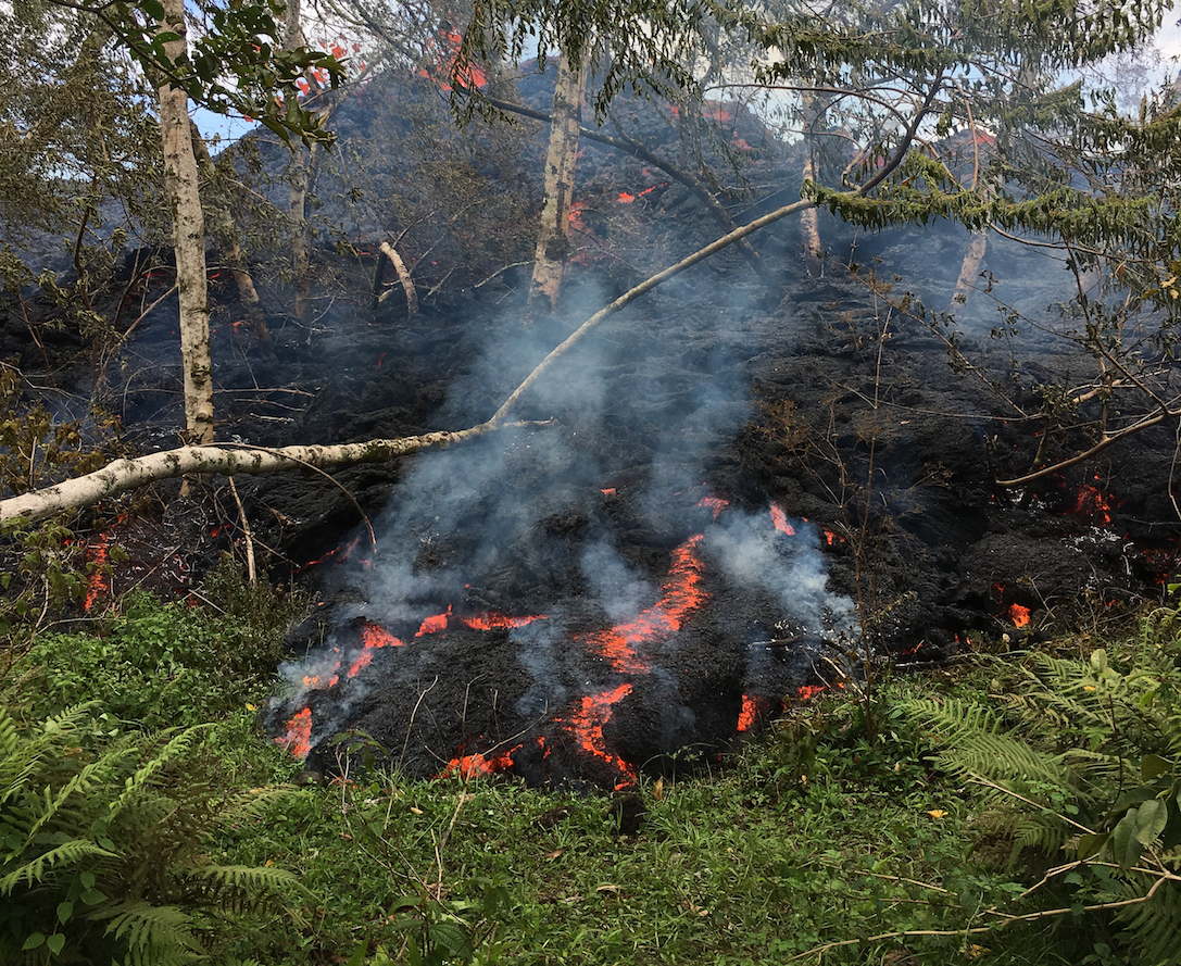 More residents of Hawaii's Big Island were urged to evacuate after two more fissures opened up over the weekend, bumping up the total number of fissures from the Kilauea volcano to 18.