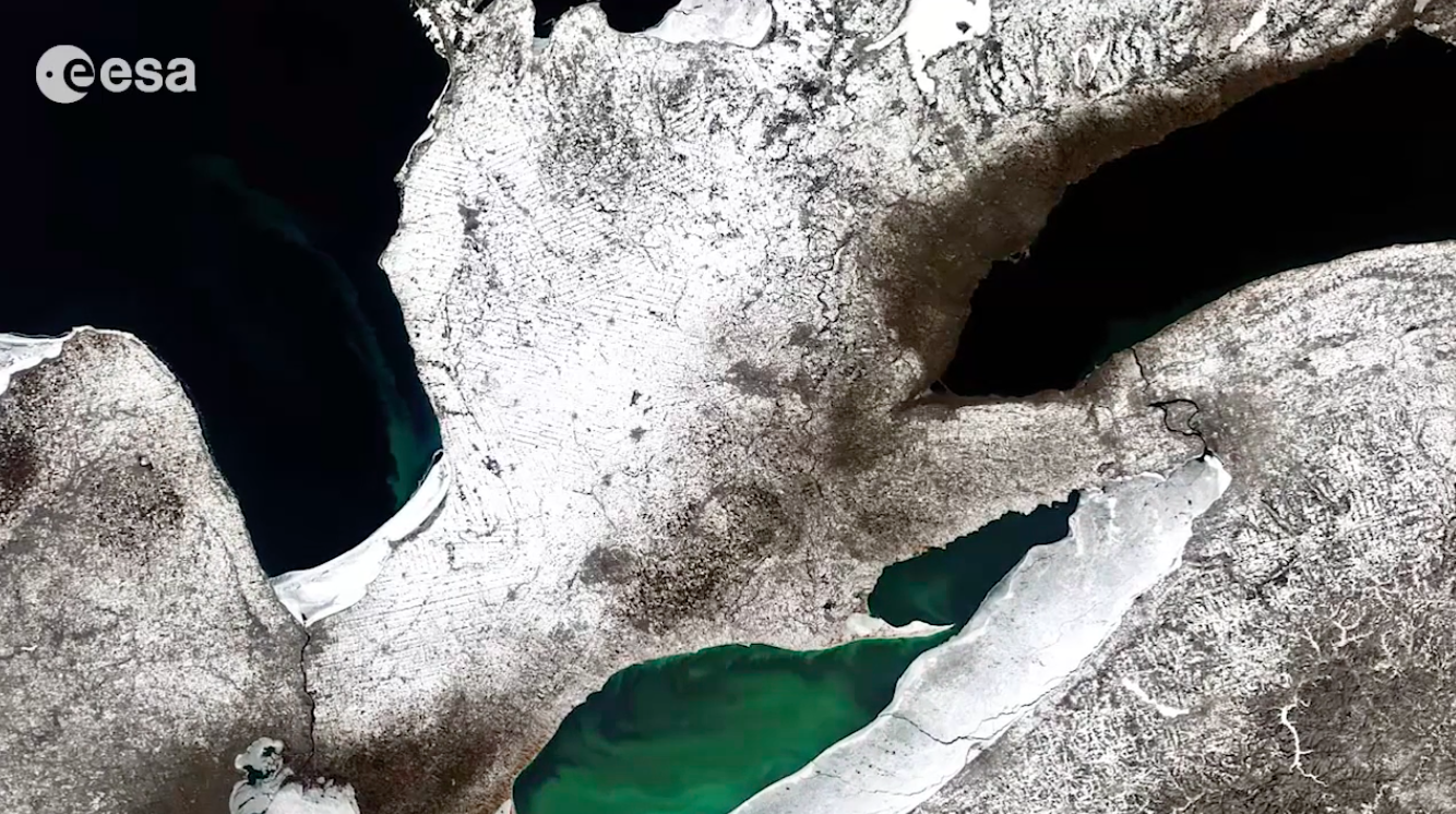 Today's Video of the Day comes from the European Space Agency's Earth from Space series and features a look at the Great Lakes as seen from space.