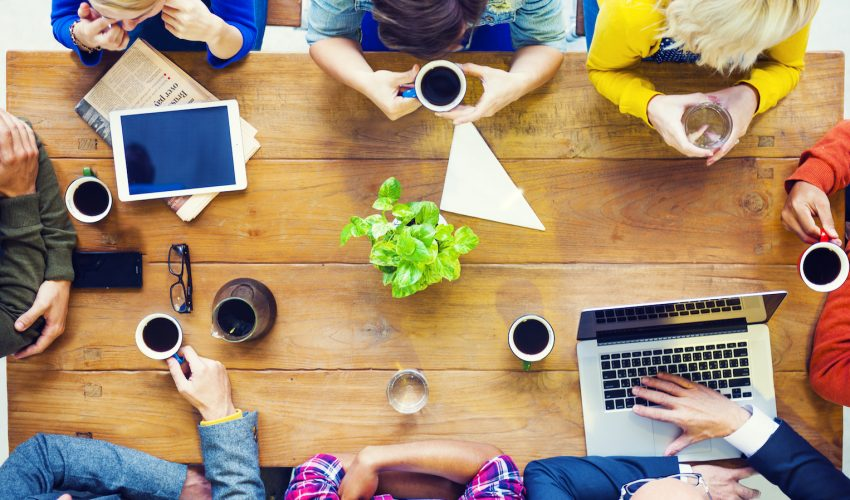A recent study has found that serving coffee at a meeting stimulates the discussion and keeps it focused, promotes involvement, and makes group members feel positively about their own participation as well as the contribution of others.