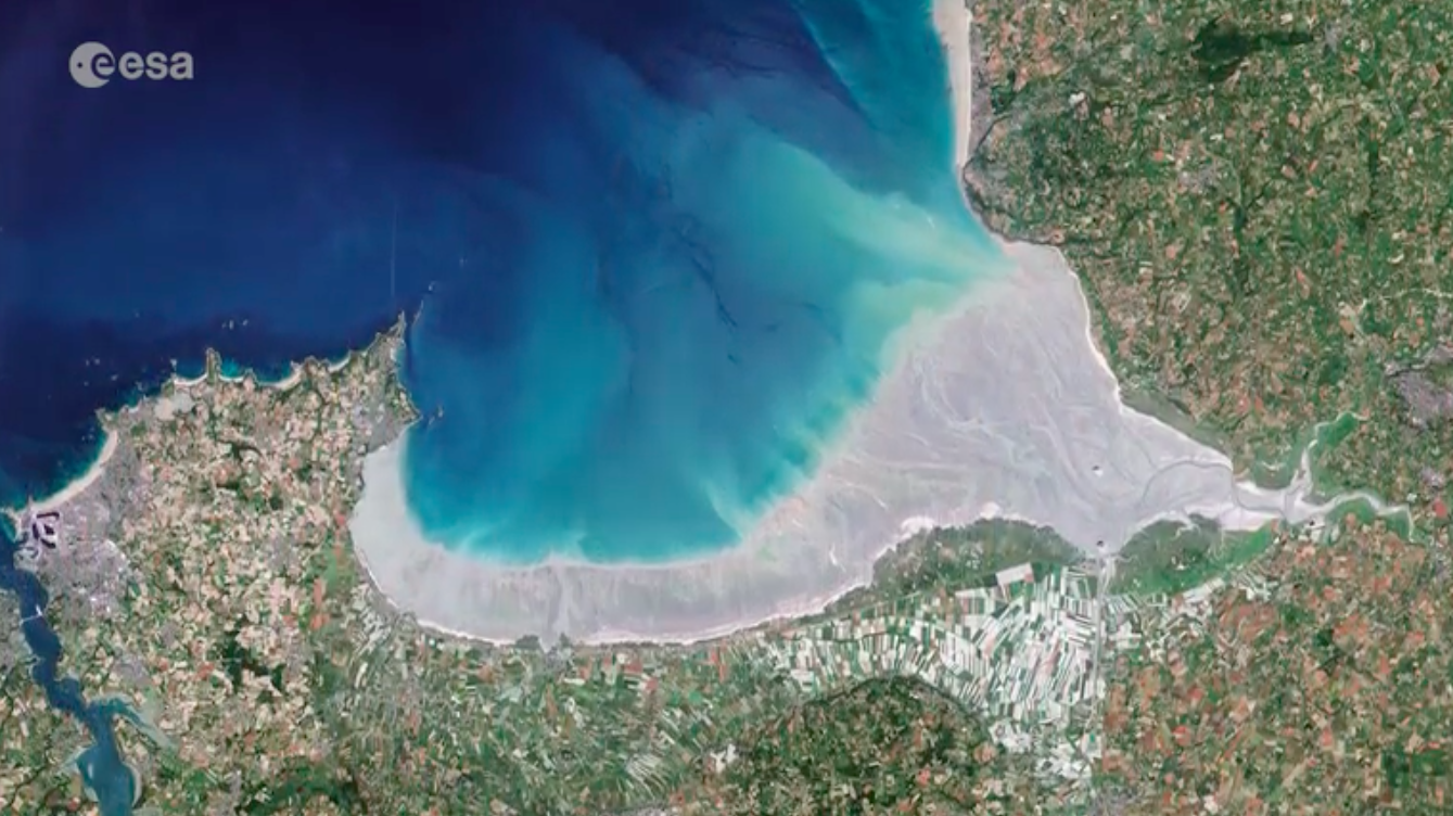 Today's Video of the Day comes from the European Space Agency's Earth from Space series and features a look at the Bay of Mont Saint-Michel in northern France.